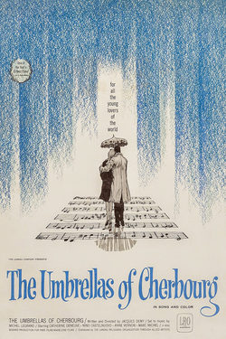 The Umbrellas of Cherbourg poster