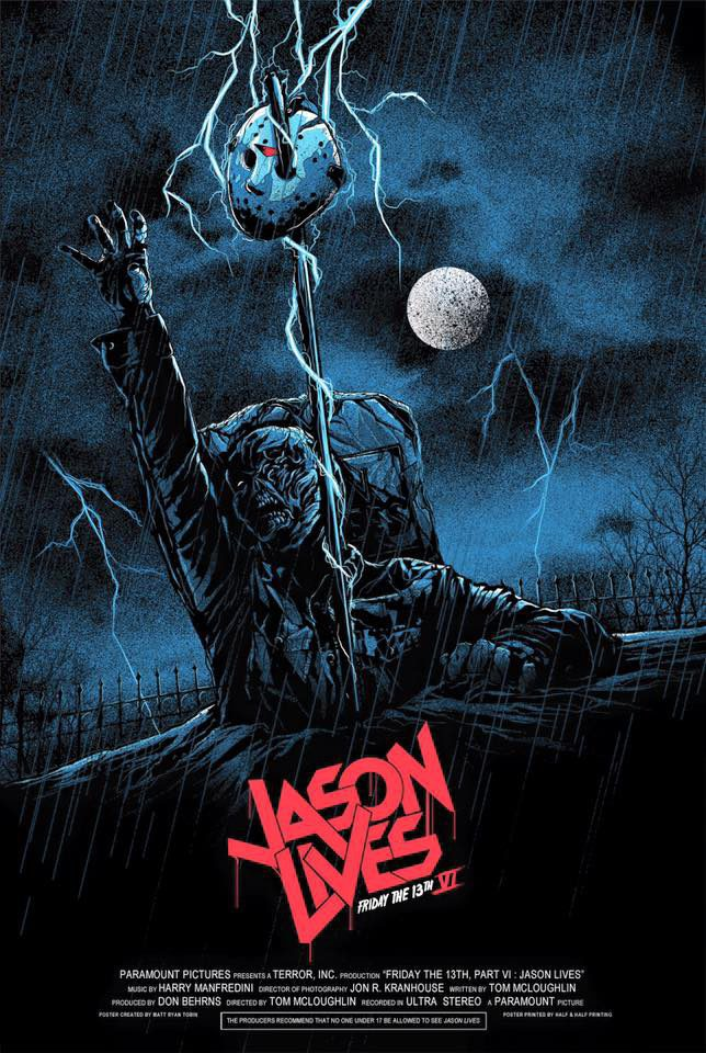 Poster #2 poster for Jason Lives: Friday the 13th Part VI (1986) - Movie'n'co