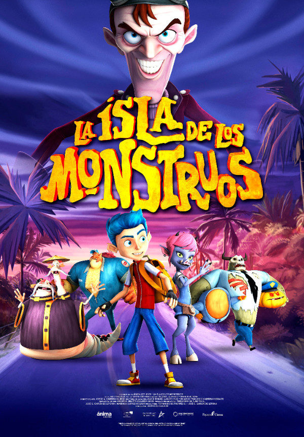 ESPAÑA poster for Monster Island