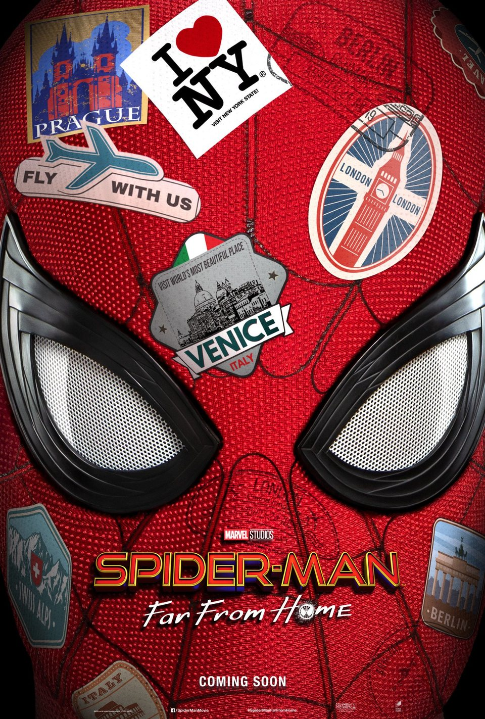 EEUU poster for Spider-Man: Far From Home