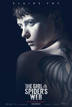 The Girl in the Spider web poster