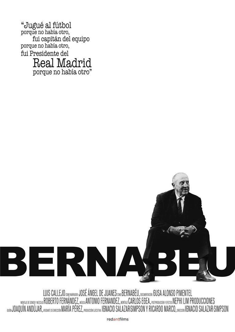 Cartel España poster for Bernabéu