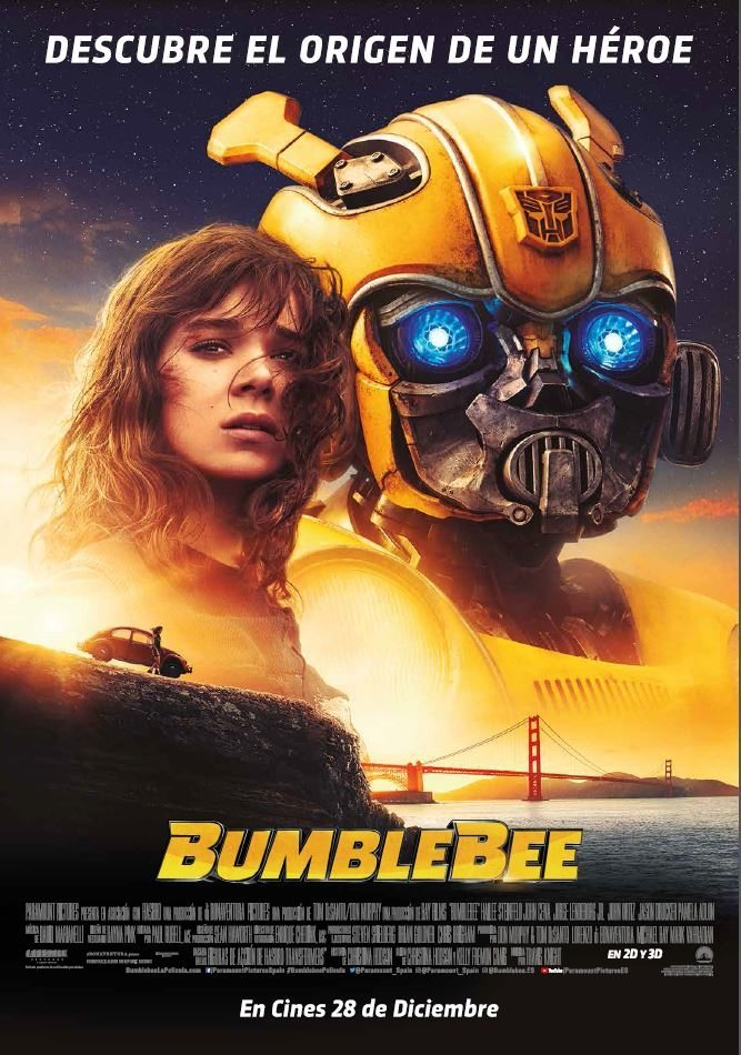 Póster final 'Bumblebee' poster for Bumblebee