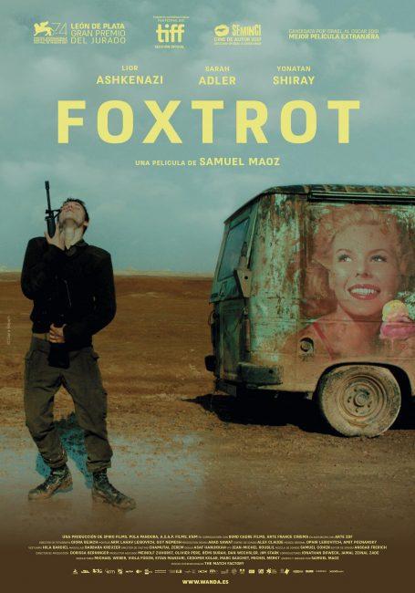 España poster for Foxtrot