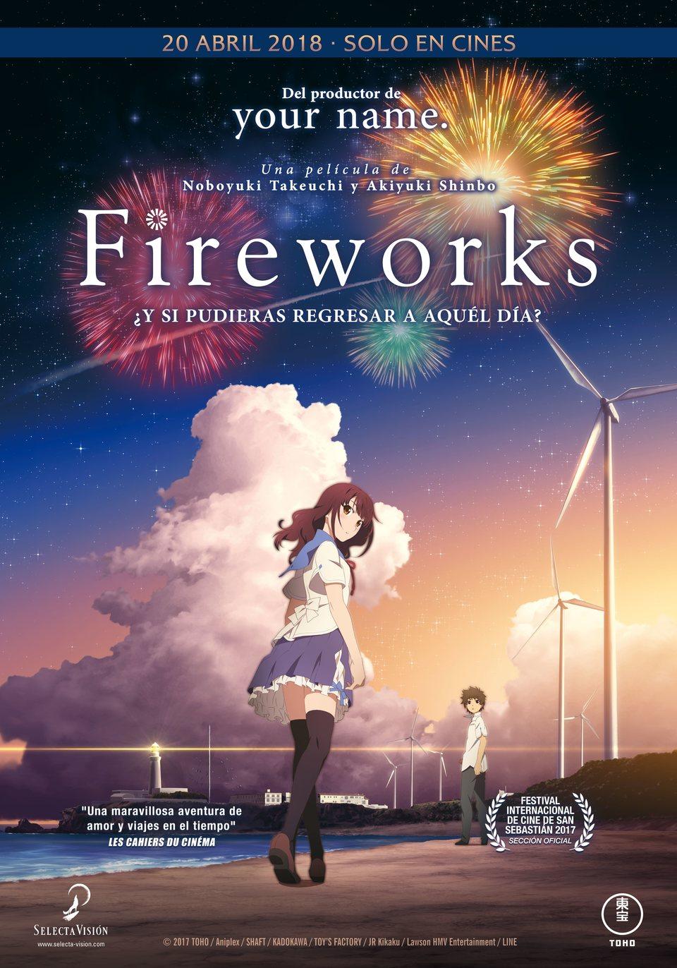 Poster España poster for Fireworks