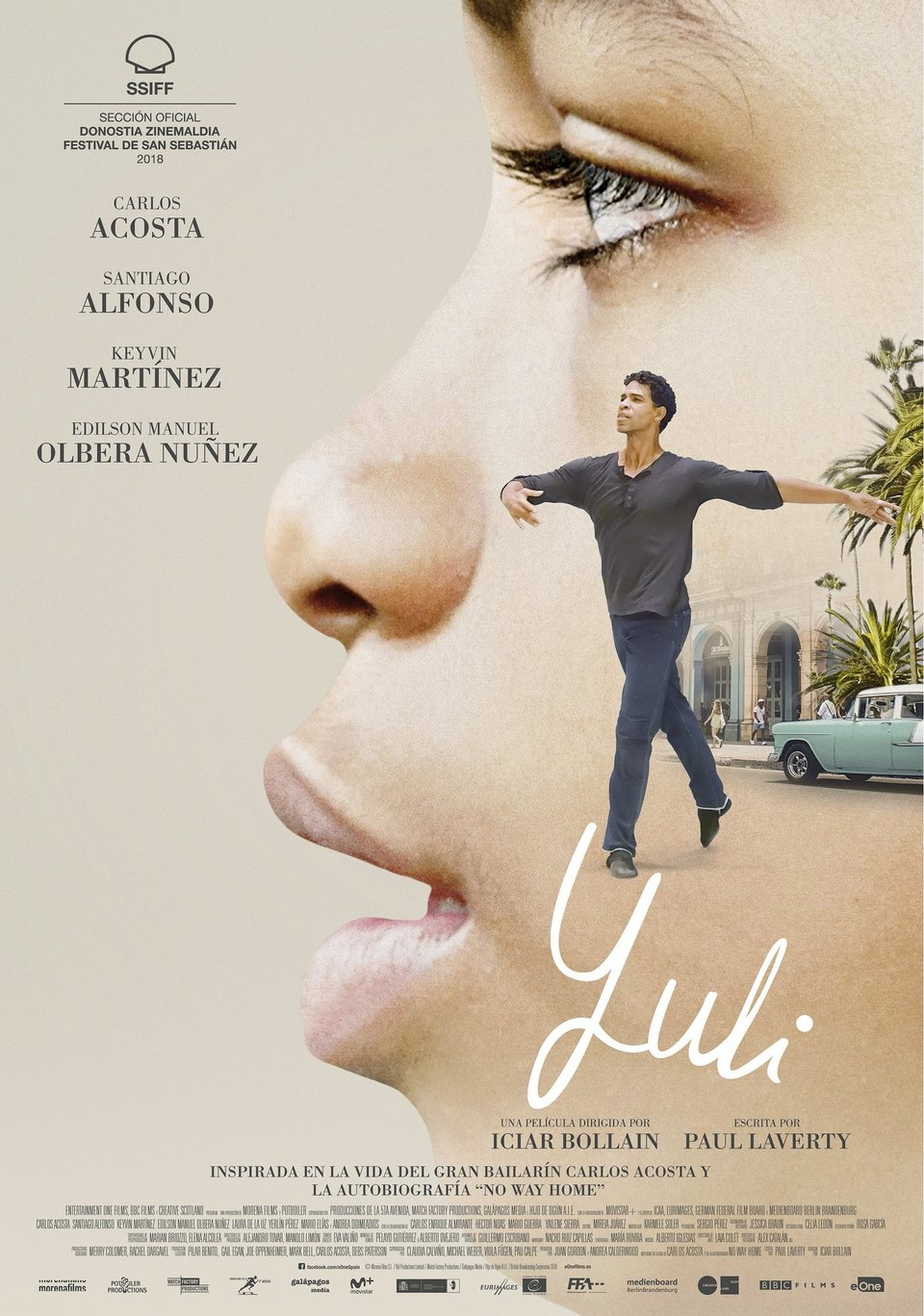 España poster for Yuli - The Carlos Acosta Story