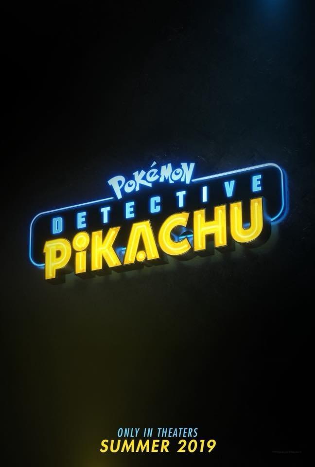 Teasers póster internacional poster for Detective Pikachu