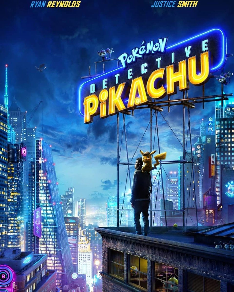 Poster España poster for Detective Pikachu