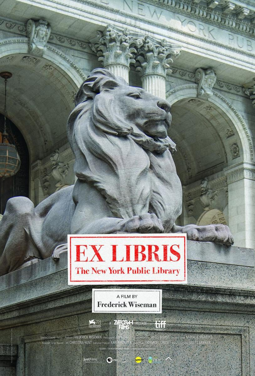 Cartel USA poster for Ex Libris: The New York Public Library
