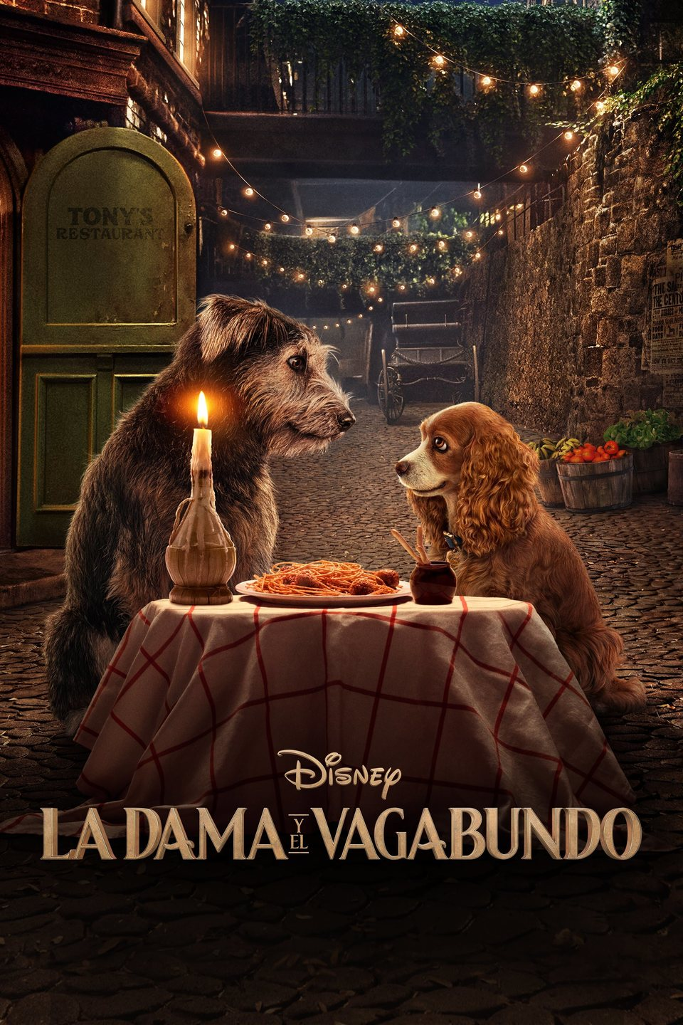 Español poster for Lady and the Tramp