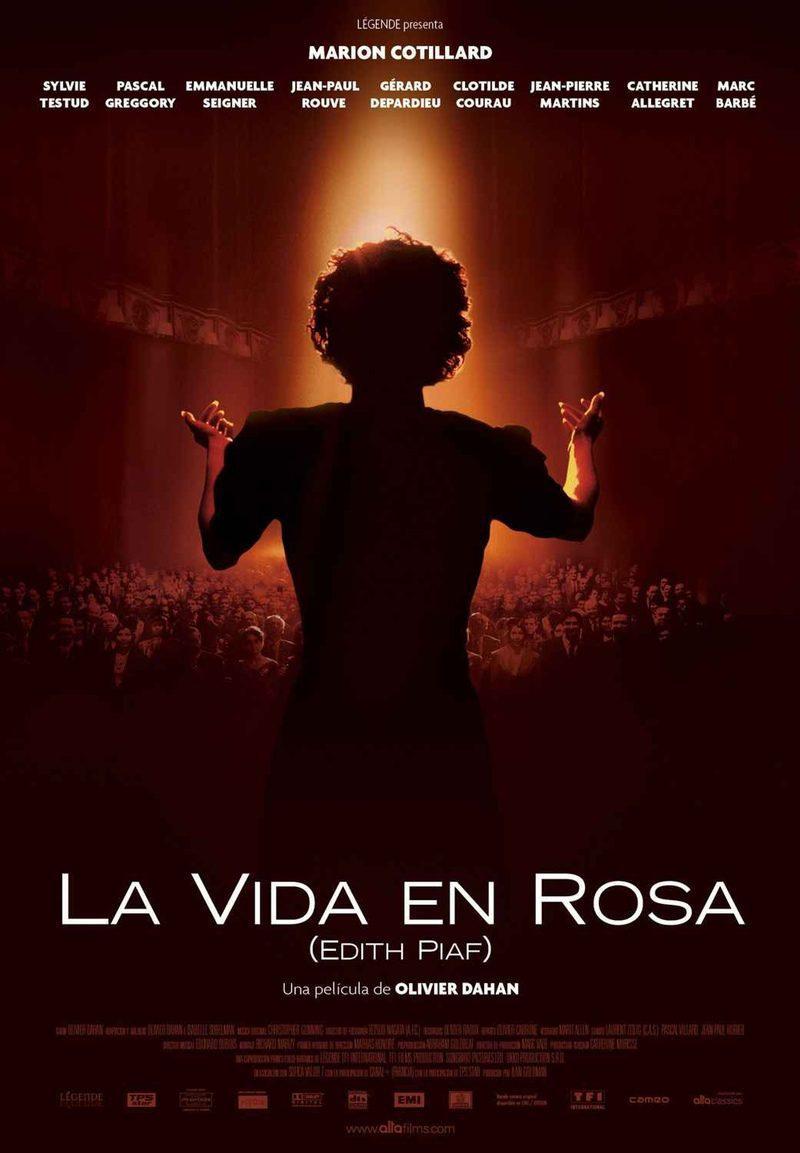 ESPAÑA poster for La vie en rose