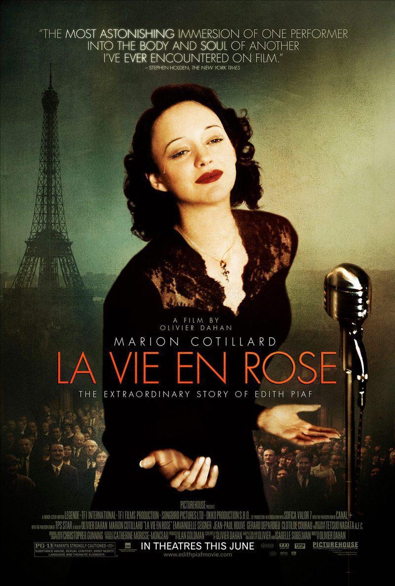 EEUU poster for La vie en rose