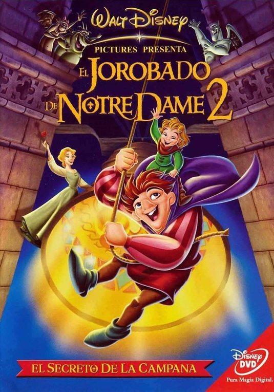 El jorobado de Notre Dame 2: El secreto de la campana poster for The Hunchback of Notre Dame II