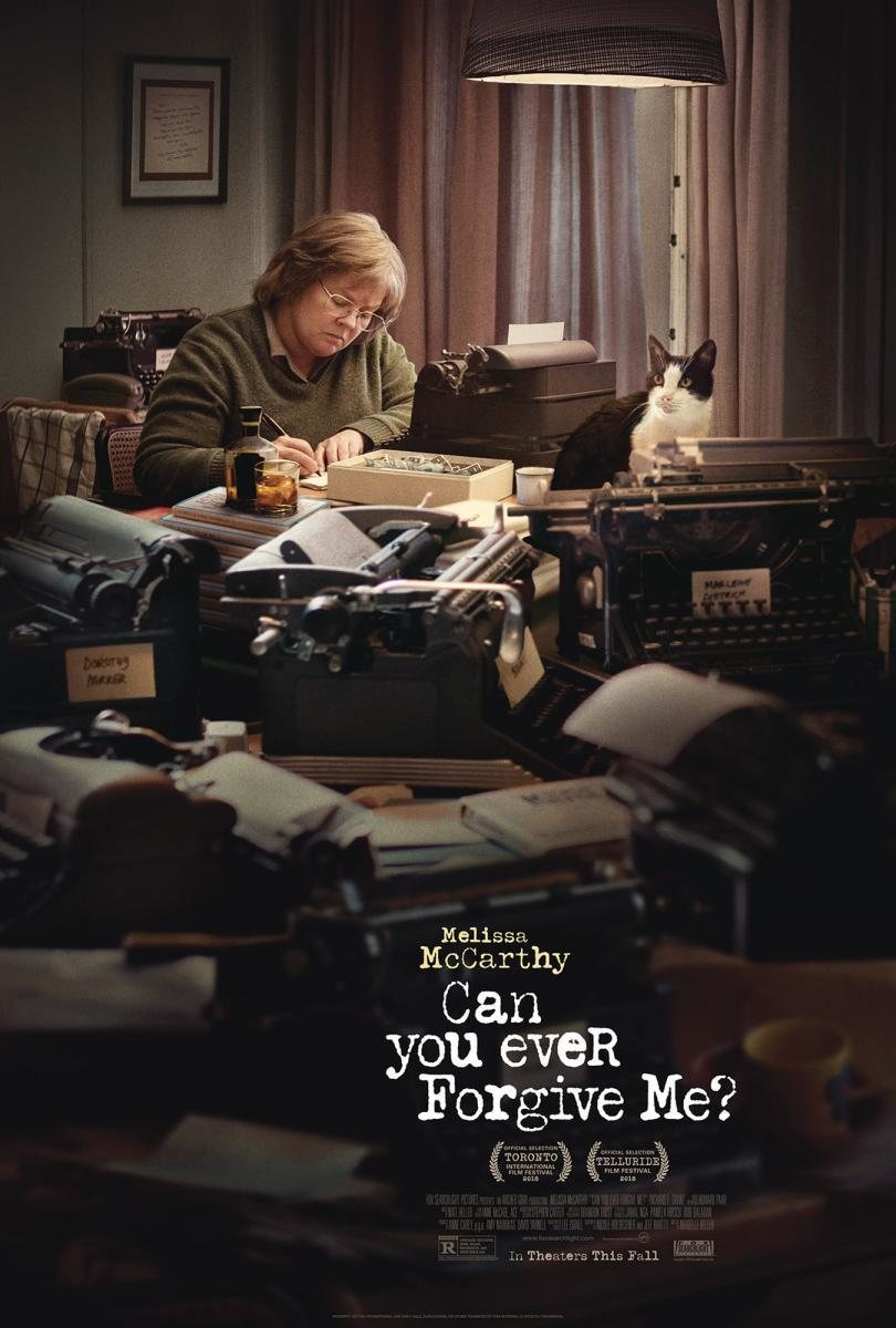 Póster inglés poster for Can You Ever Forgive Me?