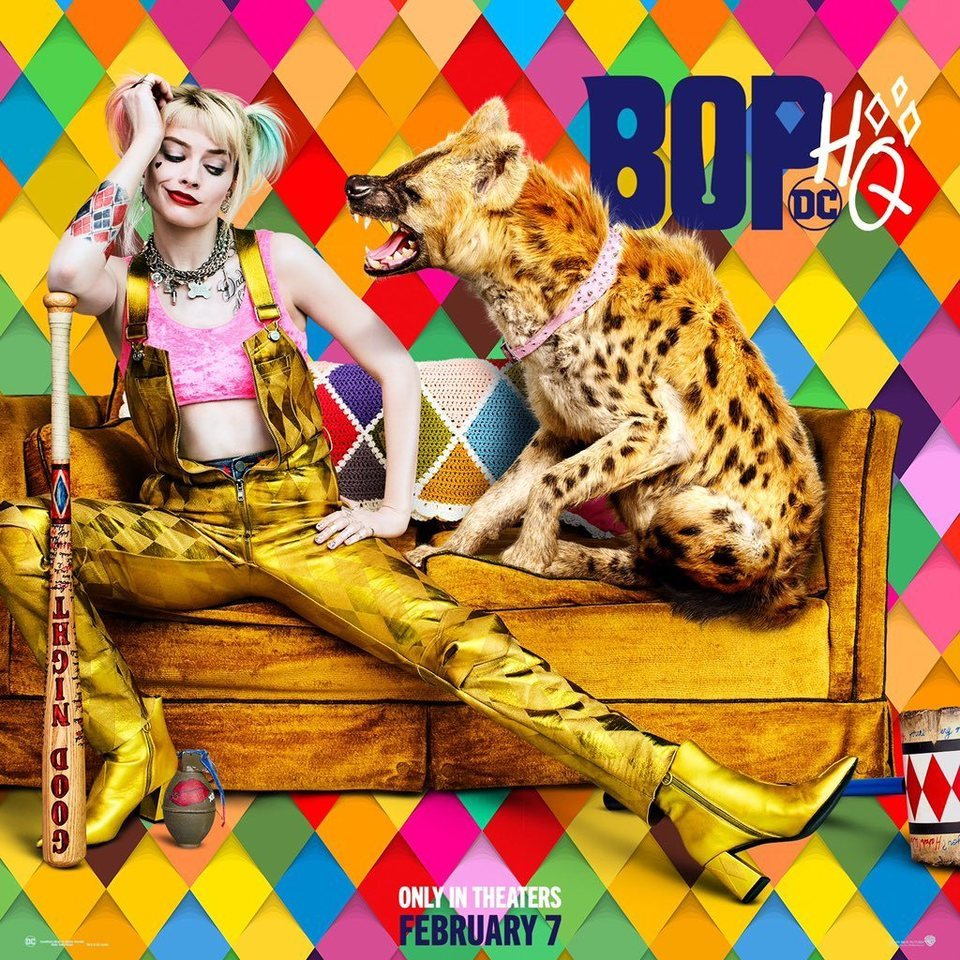 Poster artístico #1 poster for Birds of Prey: and the Fantabulous emancipation of one Harley Quinn