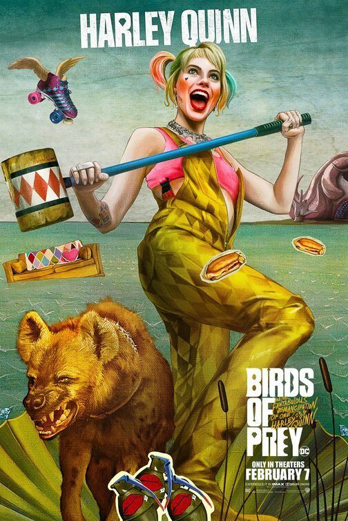 Harley Quinn poster for Birds of Prey: and the Fantabulous emancipation of one Harley Quinn