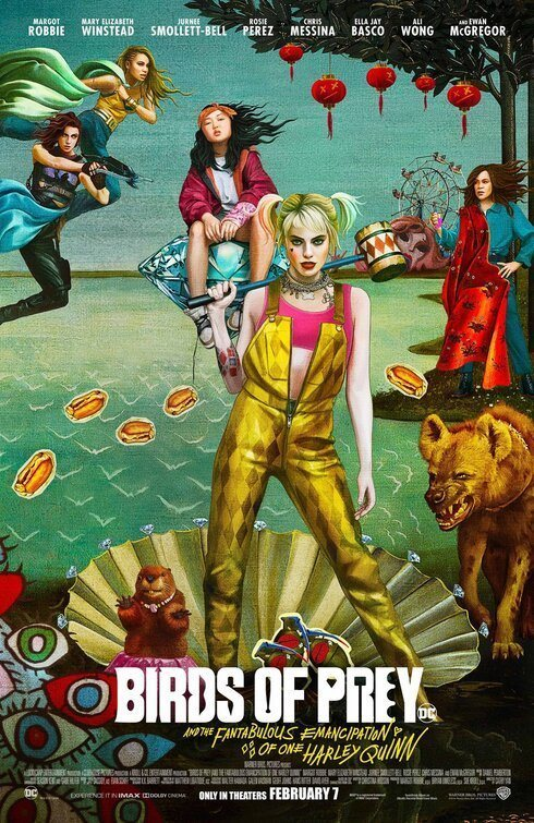 Póster artístico #5 poster for Birds of Prey: and the Fantabulous emancipation of one Harley Quinn