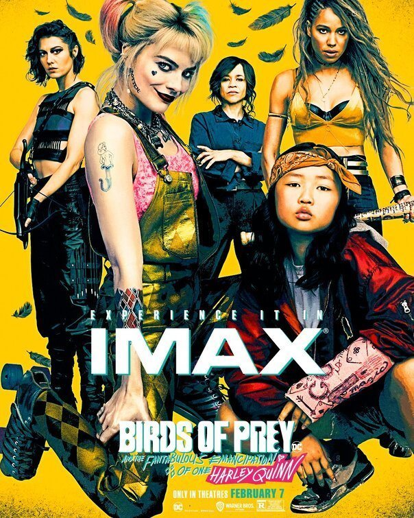 IMAX poster for Birds of Prey: and the Fantabulous emancipation of one Harley Quinn