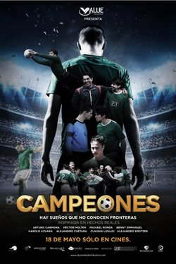 Campeones poster