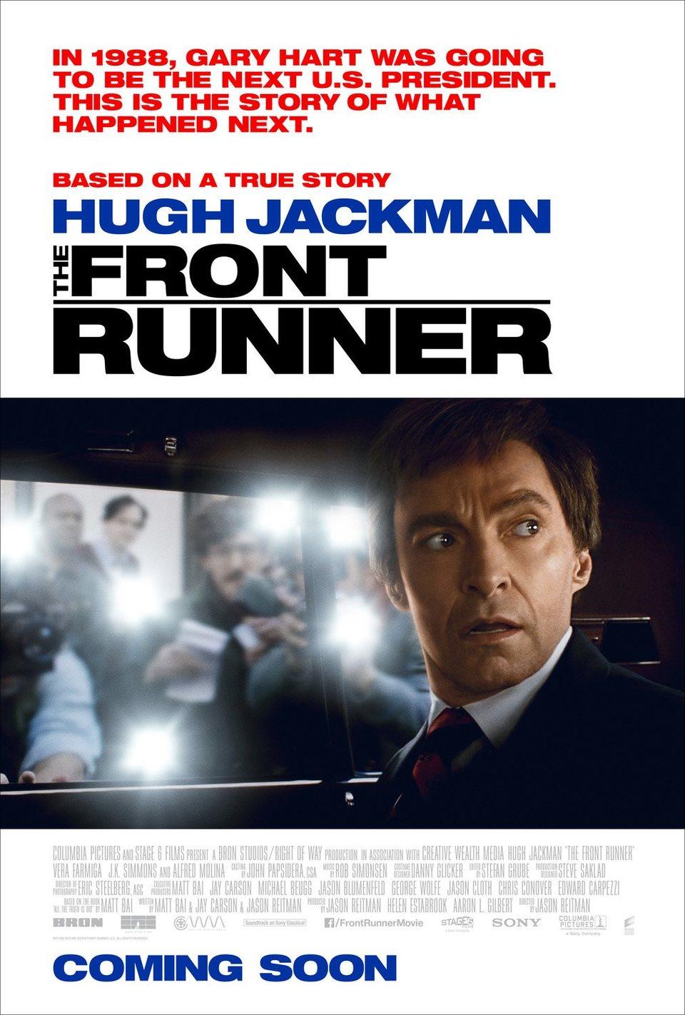 THE FRONT RUNNER #2 poster for The Front Runner
