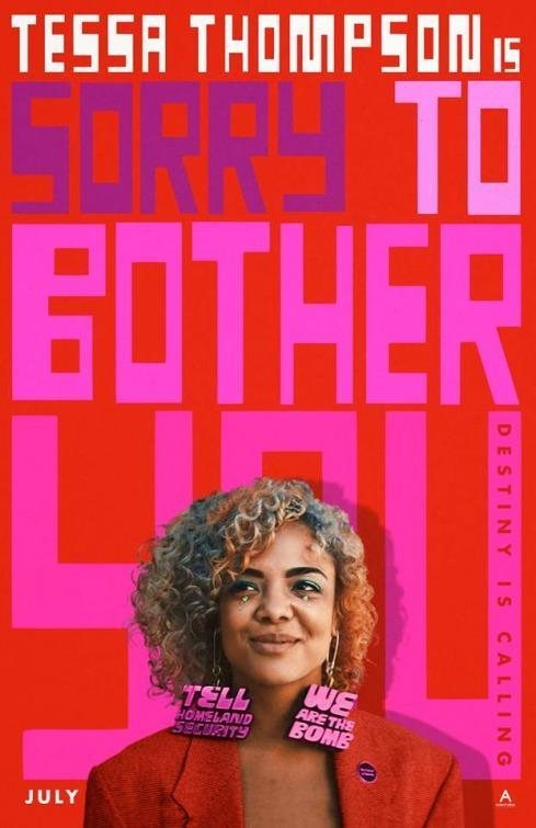 EEUU poster for Sorry to Bother You