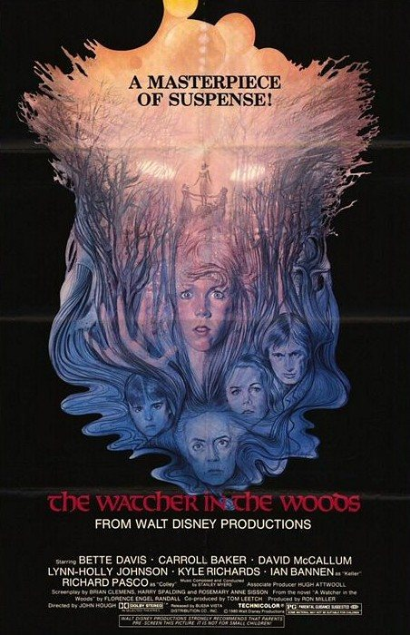 Original poster for The Watcher in the Woods