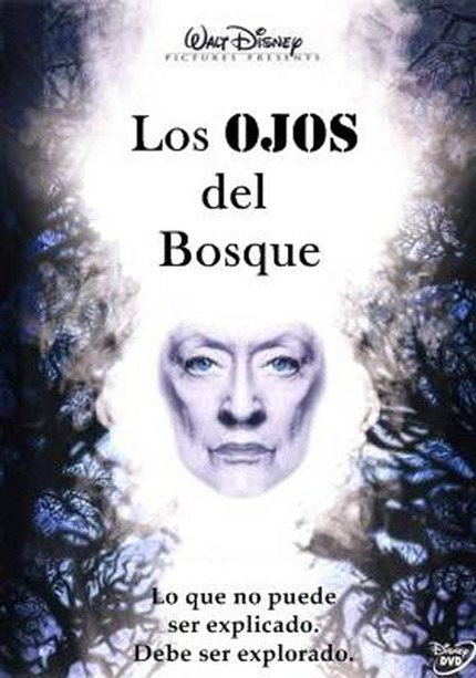 Póster español poster for The Watcher in the Woods