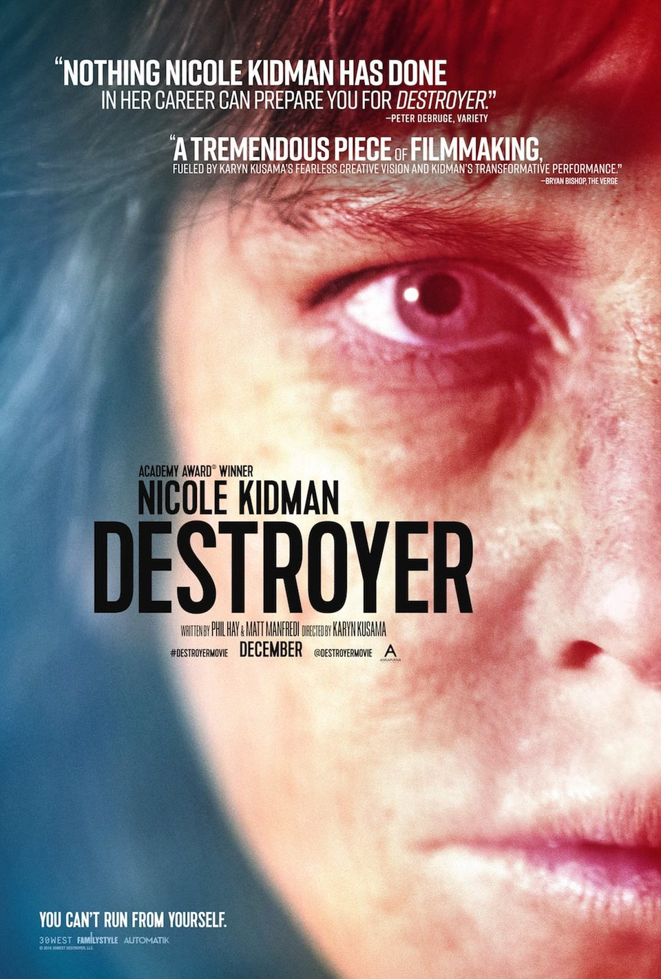 Póster poster for Destroyer