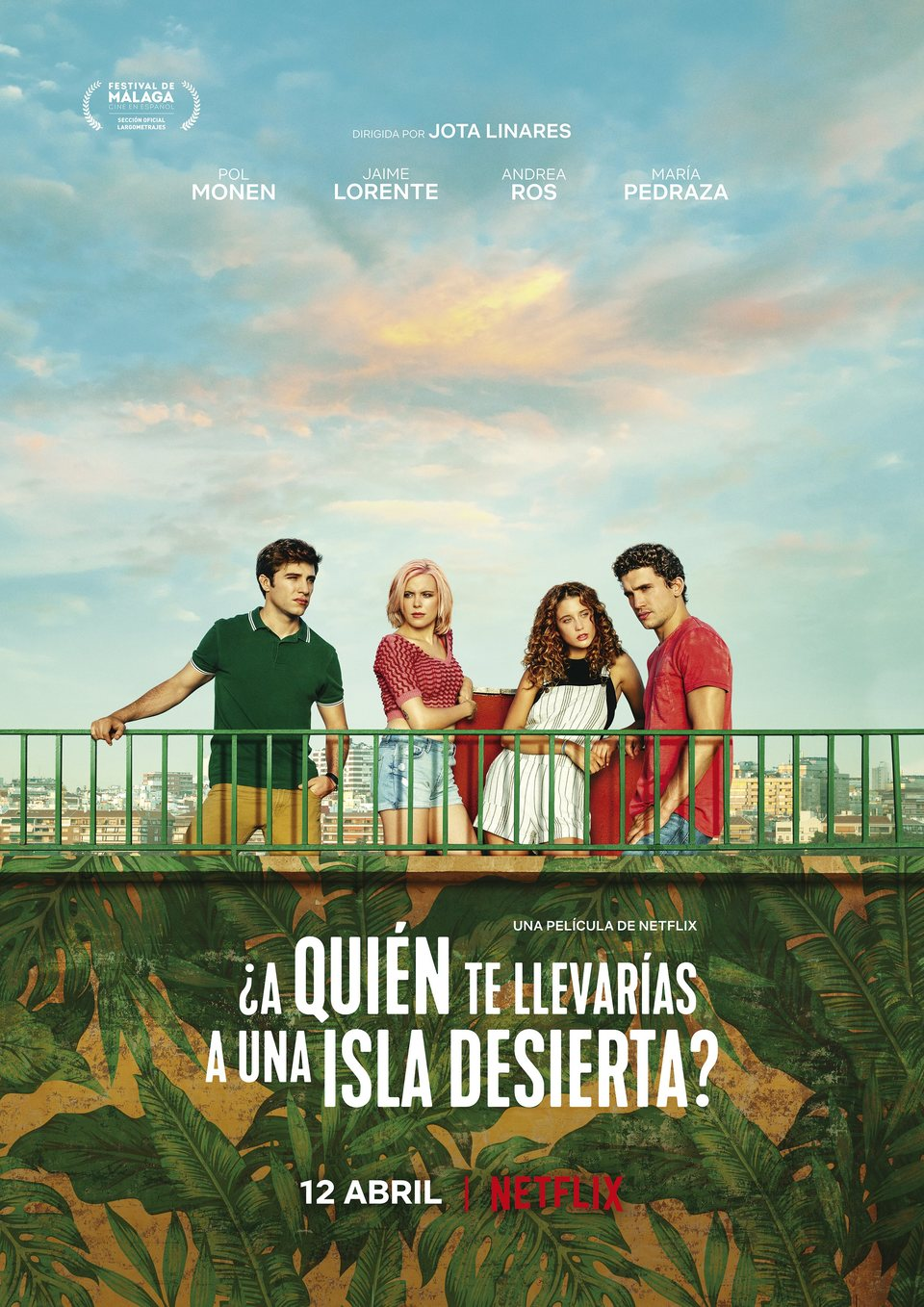España poster for Who Would You Take to a Deserted Island?