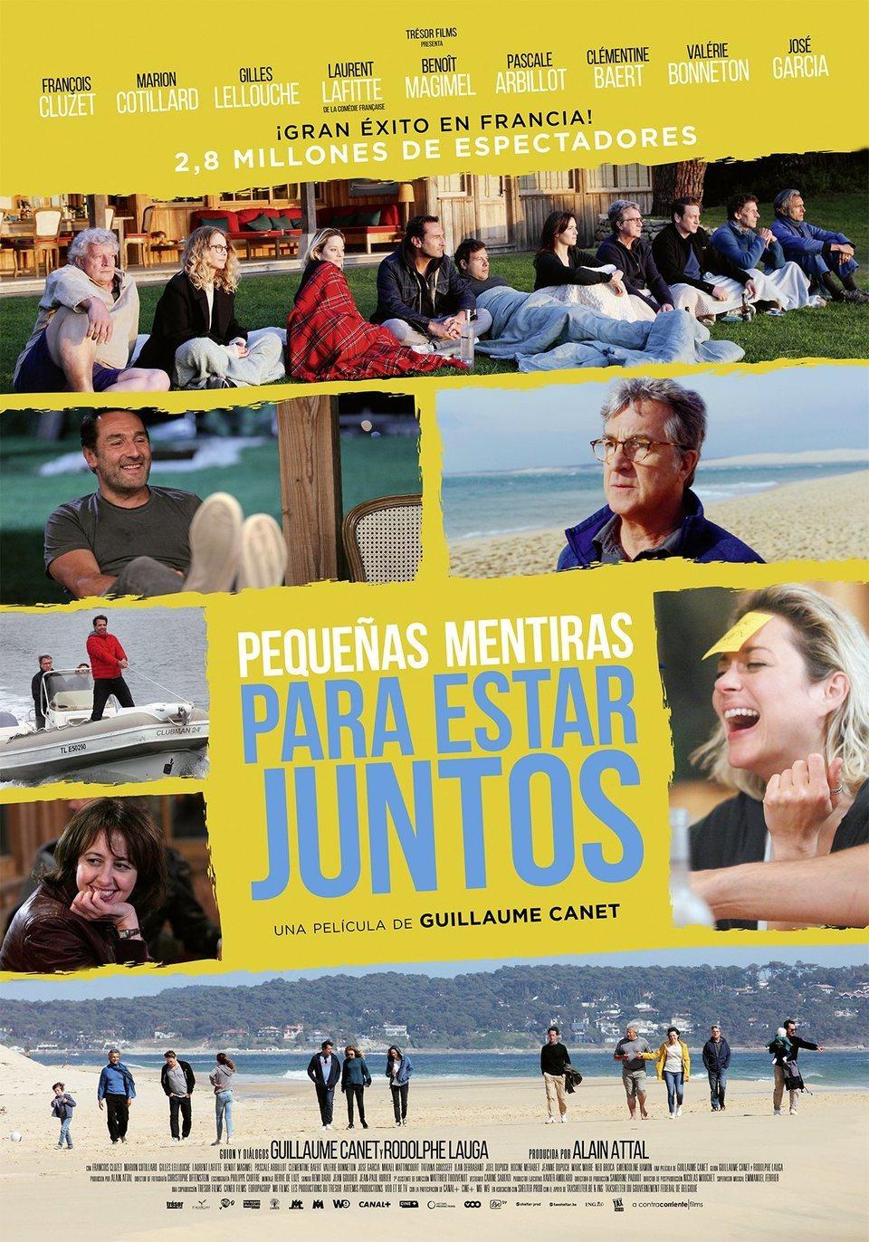 Póster España poster for Nous finirons ensemble