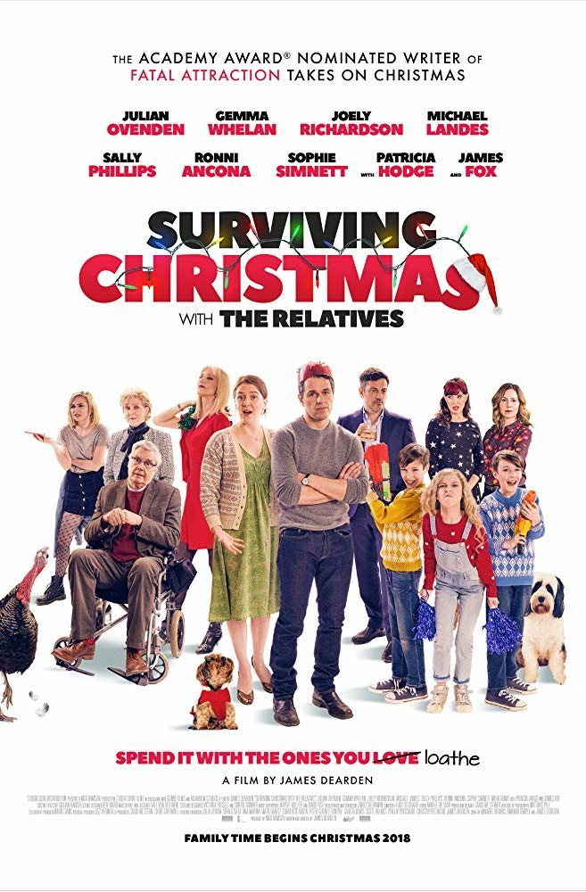 Reino Unido poster for Surviving Christmas with the Relatives