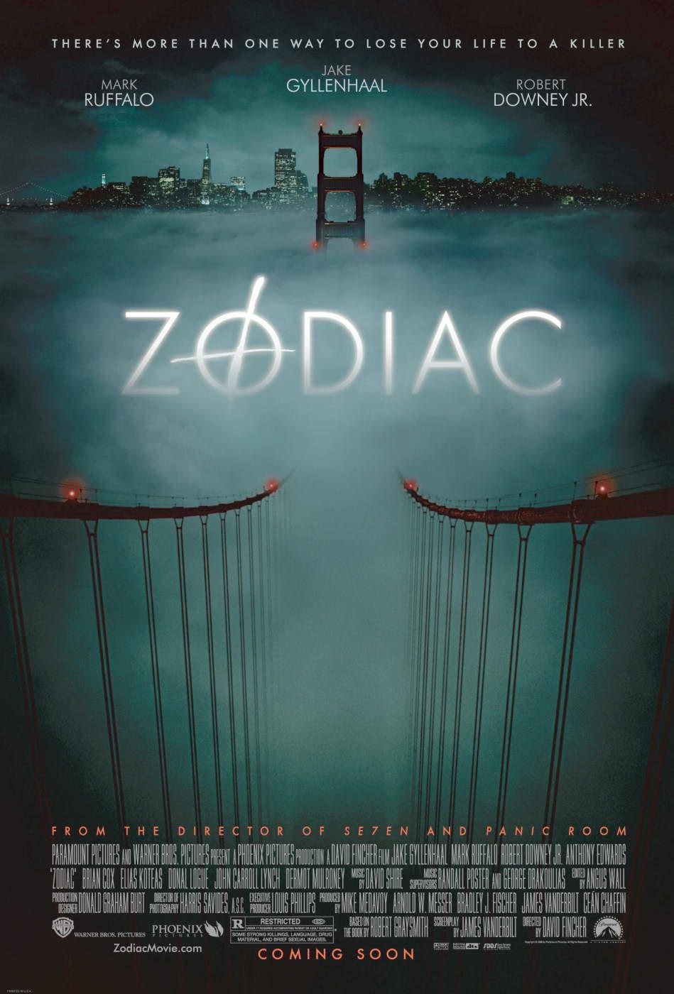 Estados Unidos poster for Zodiac