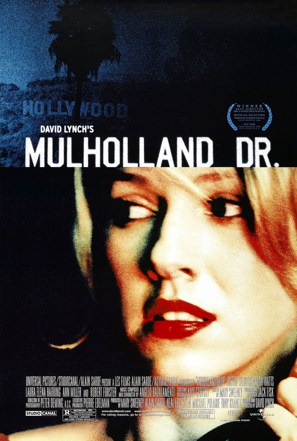 EEUU poster for Mulholland Dr.