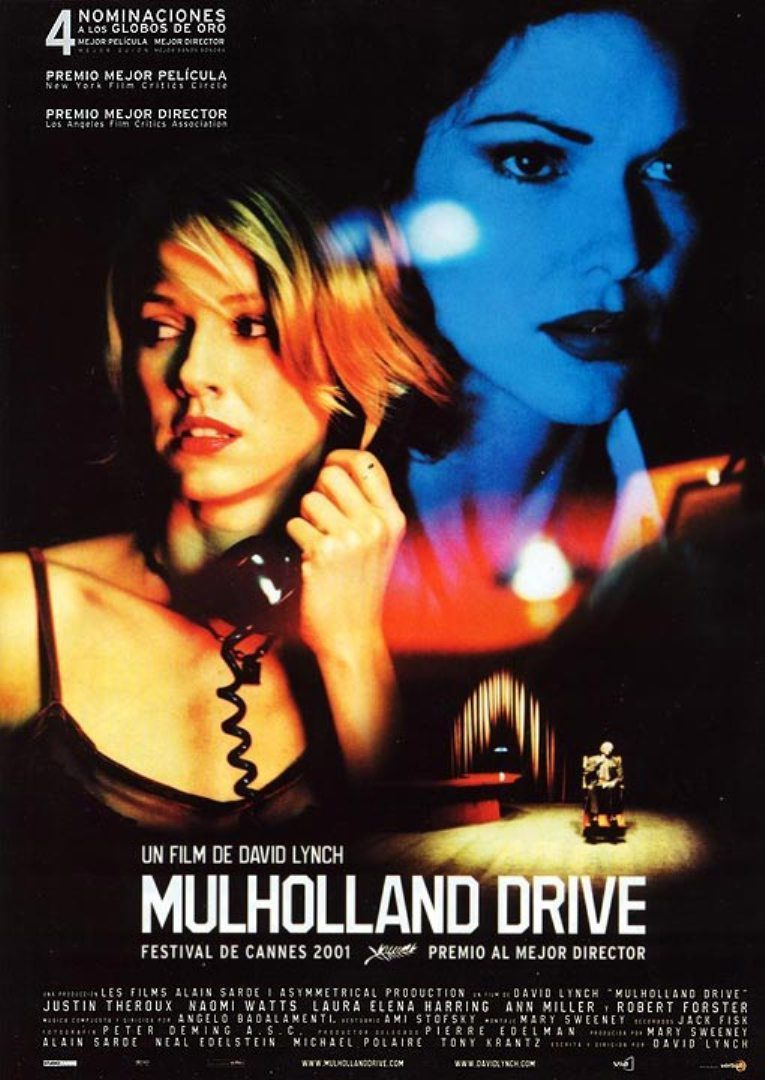 España poster for Mulholland Dr.