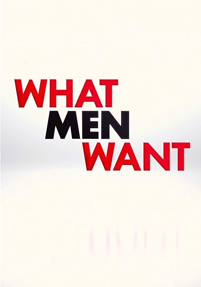 Teaser póster inglés 'What Men Want' poster for What Men Want