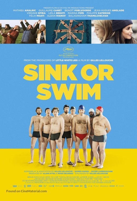 UK poster for Sink or swim