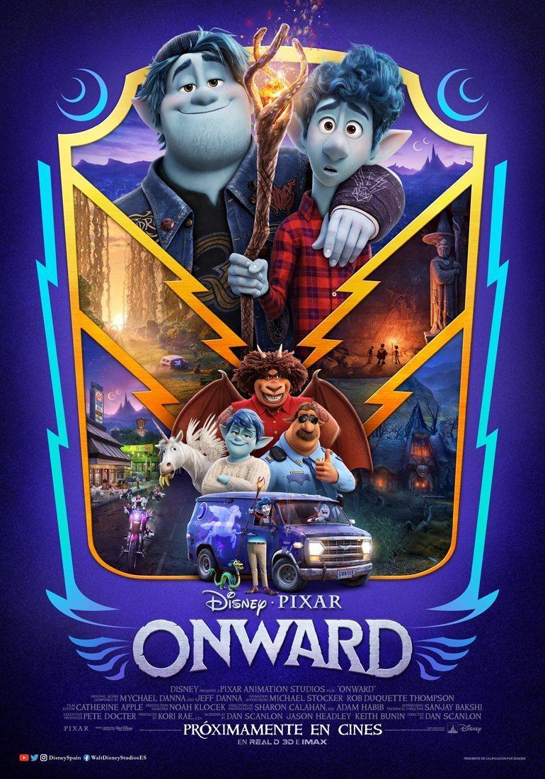 Póster España #5 poster for Onward