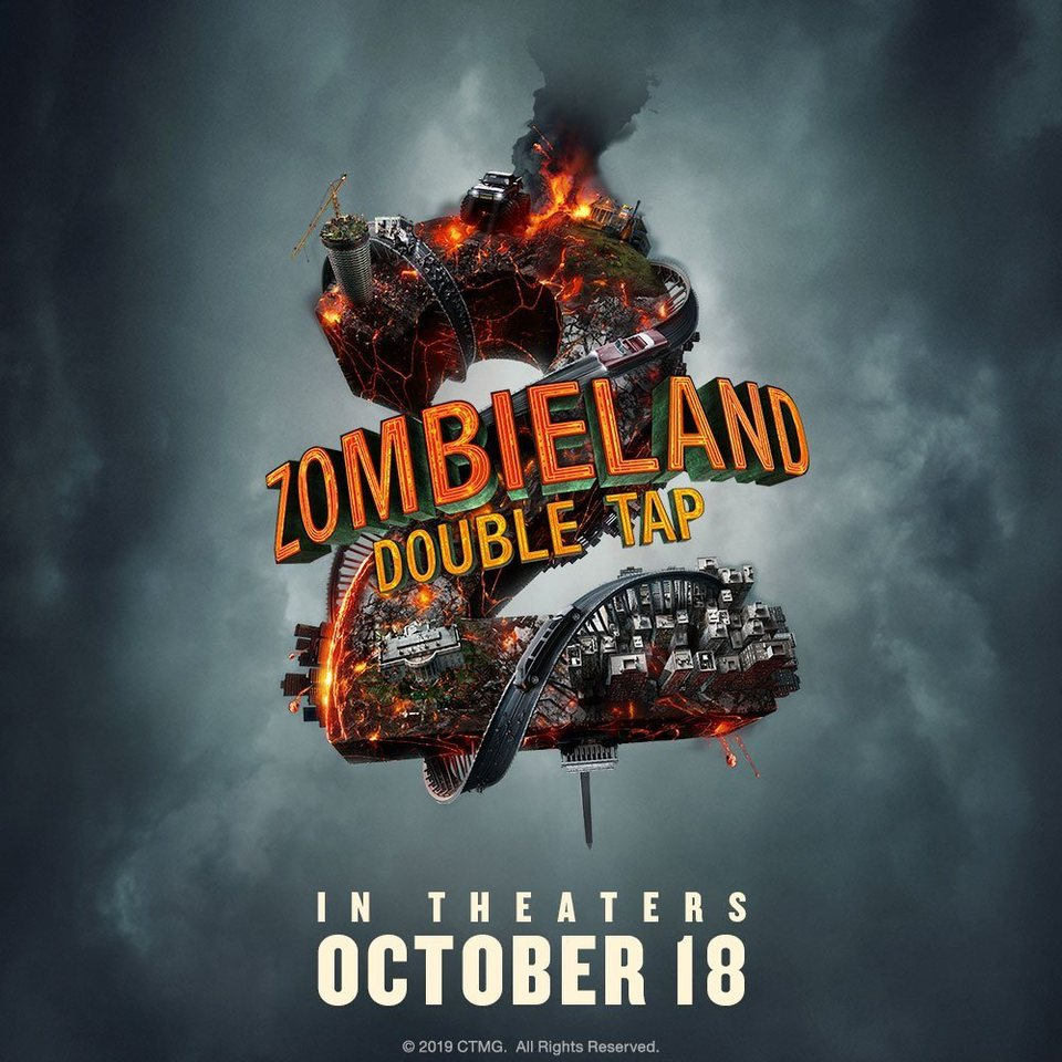 Teaser con fecha de estreno poster for Zombieland: Double Tap