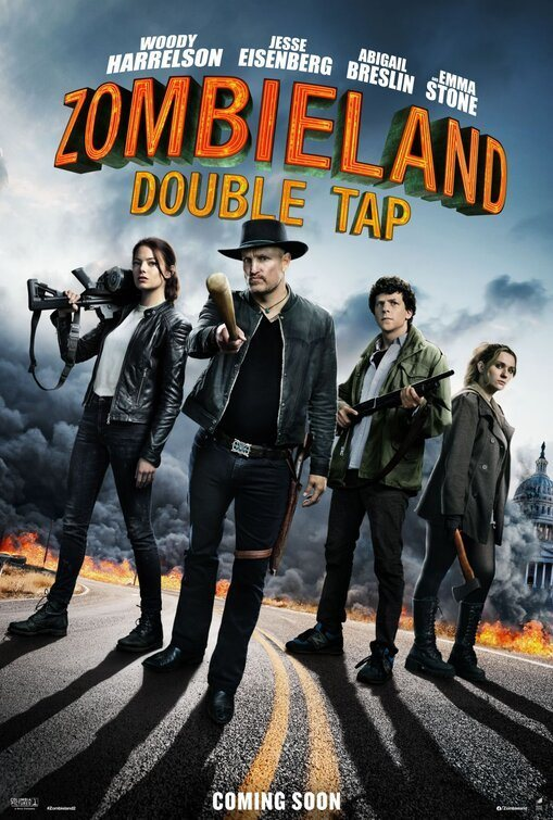 Poster EEUU poster for Zombieland: Double Tap