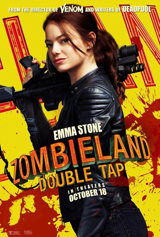 Emma Stone poster for Zombieland: Double Tap