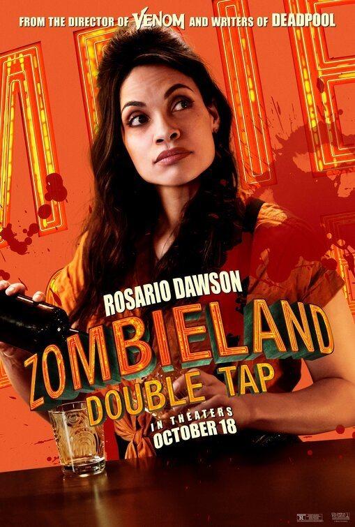 Rosario Dawson poster for Zombieland: Double Tap