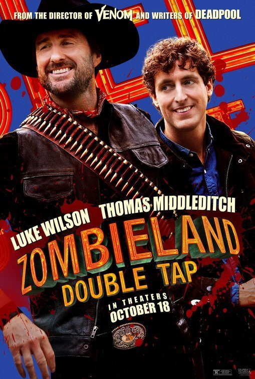 Luke Wilson y Thomas Middleditch poster for Zombieland: Double Tap