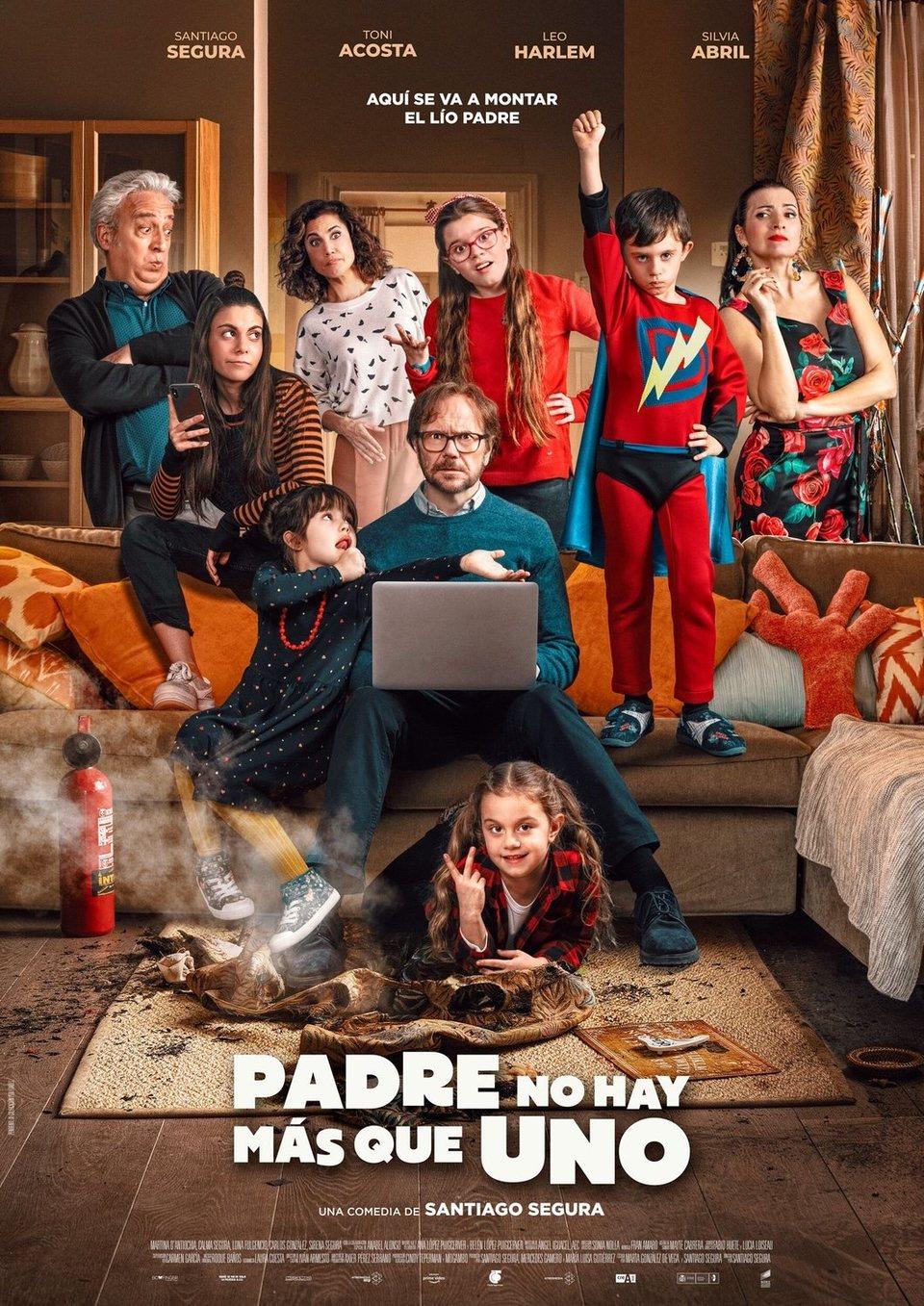 España #2 poster for Padre no hay más que uno