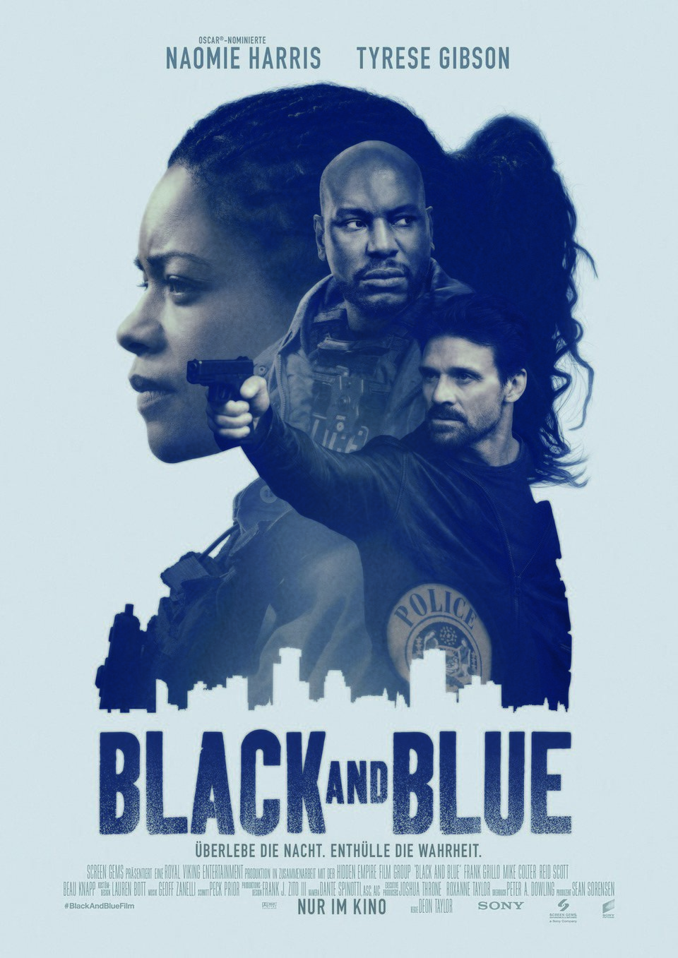 Poster Alemania poster for Black and Blue