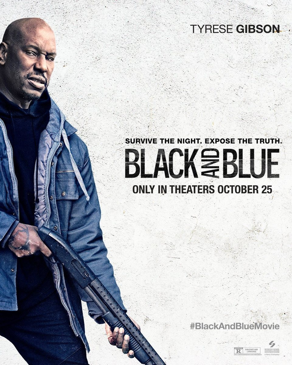 Poster Tyrese Gibson poster for Black and Blue