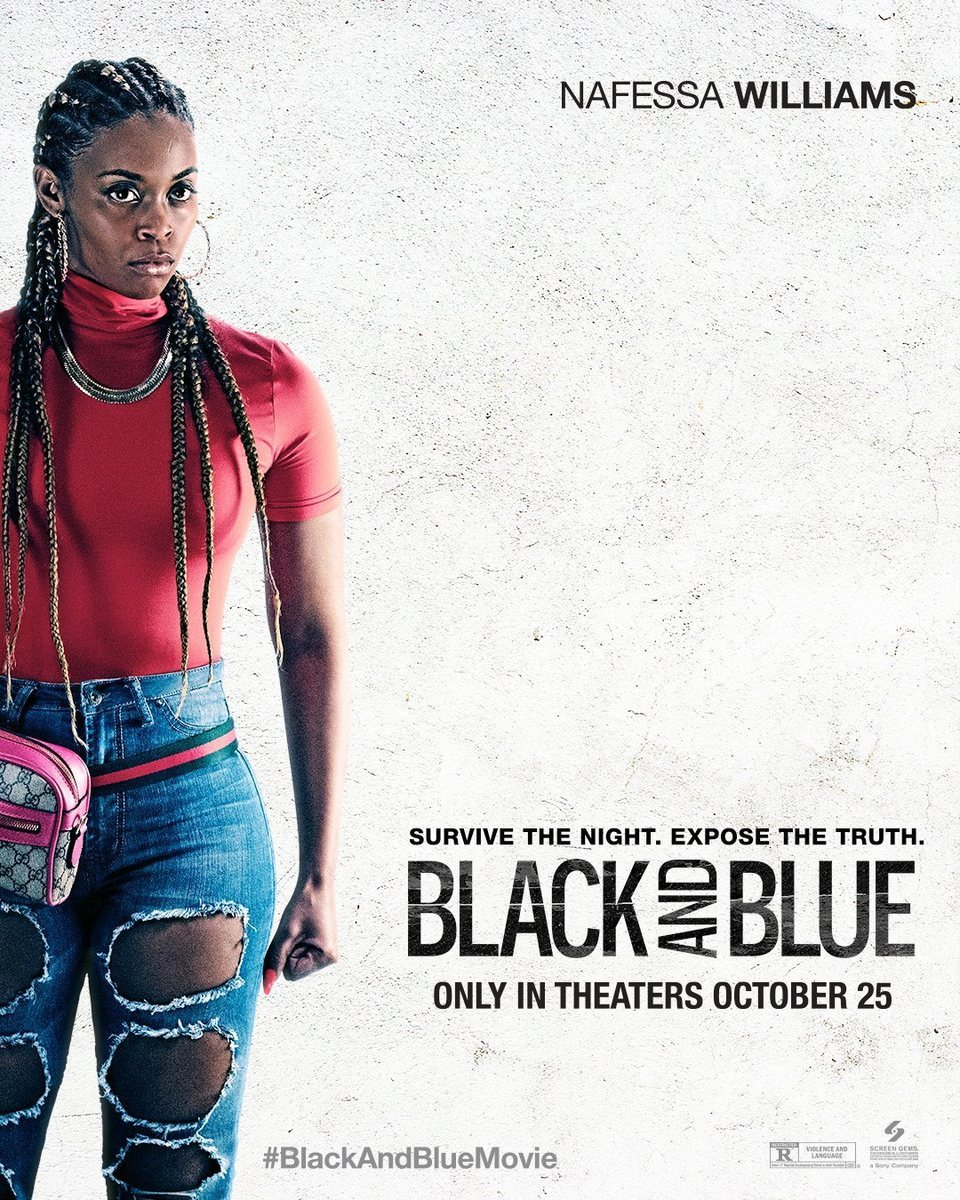 Poster Nafessa Williams poster for Black and Blue