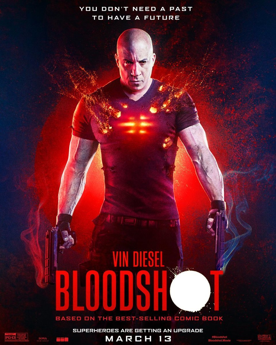 Póster inglés poster for Bloodshot
