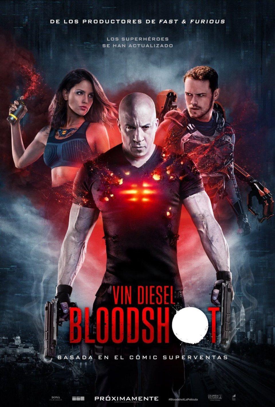 Póster español poster for Bloodshot