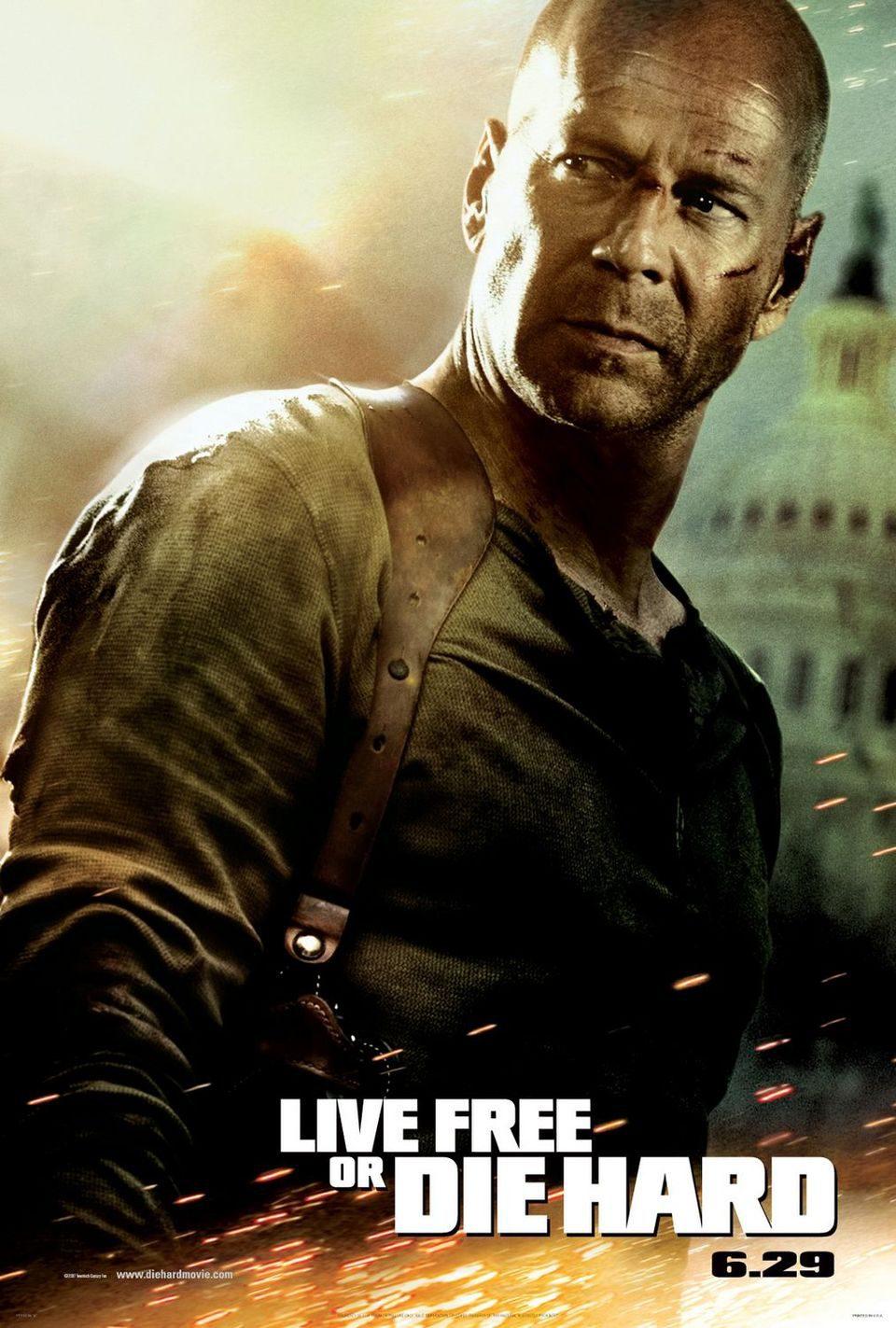 Estados Unidos poster for Live Free or Die Hard
