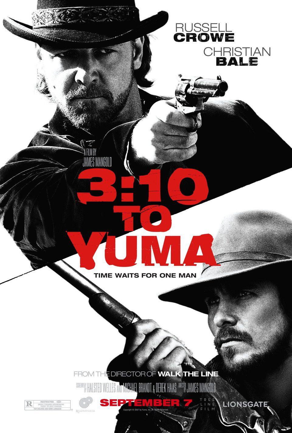 EEUU poster for 3:10 to Yuma